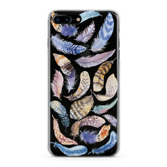 Lex Altern Feathers Pattern Phone Case for your iPhone & Android phone.