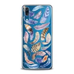 Lex Altern TPU Silicone Huawei Honor Case Feathers Pattern