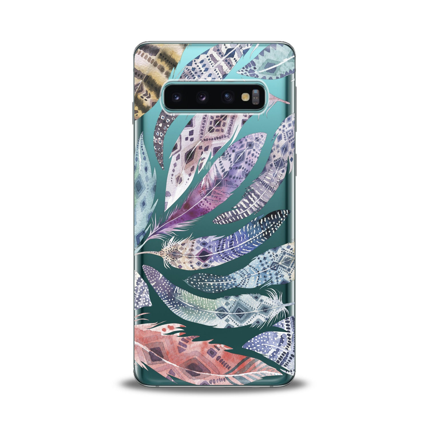 Lex Altern Colorful Feathers Samsung Galaxy Case
