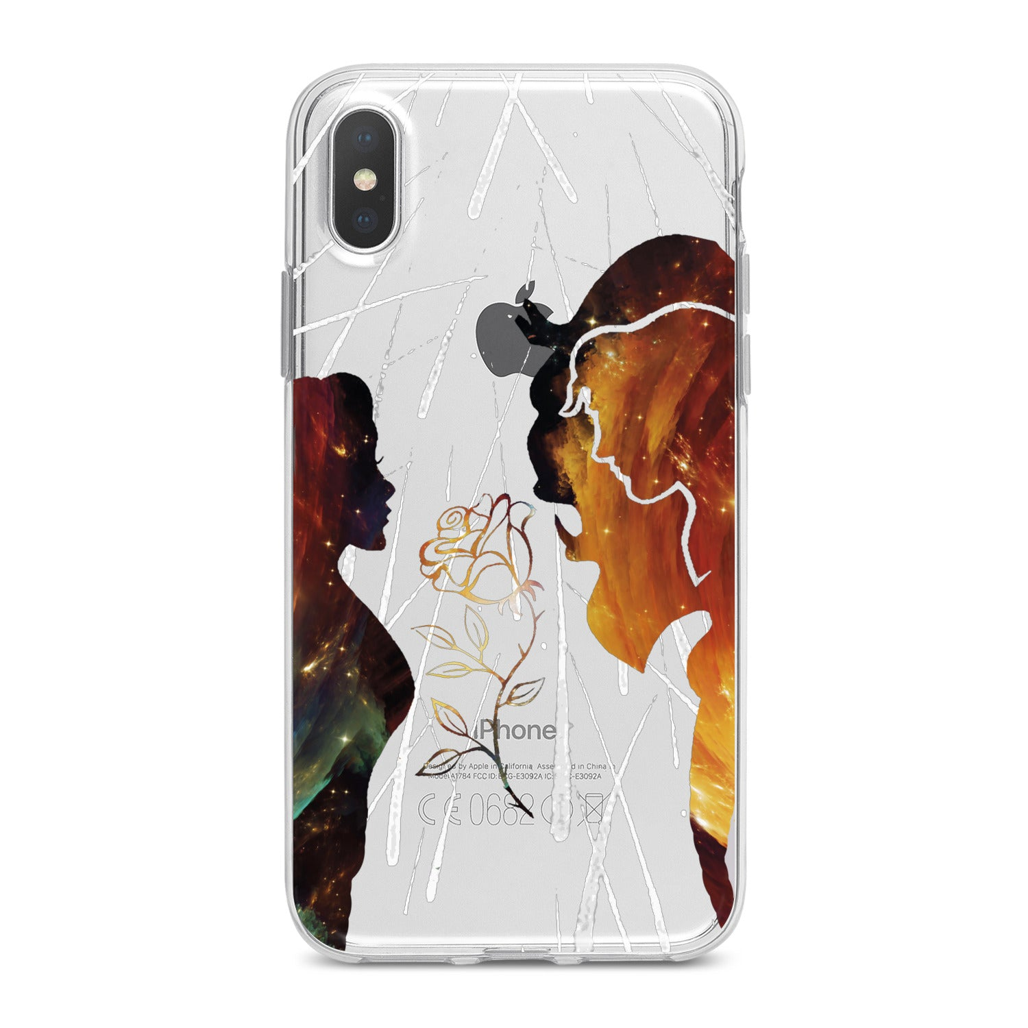 Lex Altern Beauty And The Beast Phone Case for your iPhone & Android phone.
