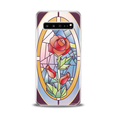 Lex Altern TPU Silicone Samsung Galaxy Case Red Rose Art