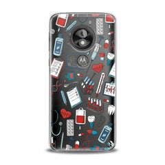 Lex Altern TPU Silicone Phone Case Medical Pattern