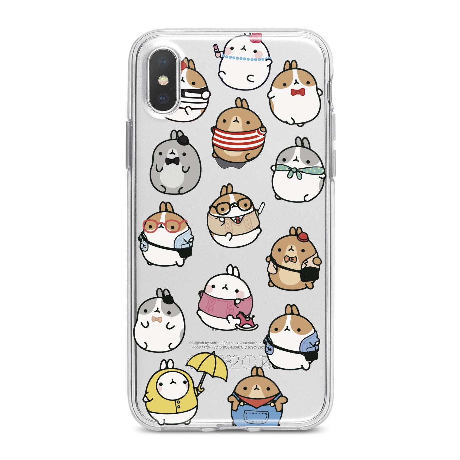 Lex Altern Kawaii Cartoon Phone Case for your iPhone & Android phone.