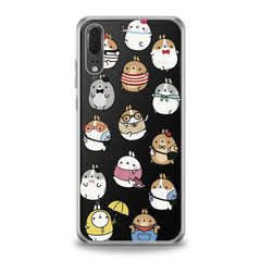 Lex Altern TPU Silicone Huawei Honor Case Kawaii Cartoon