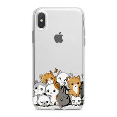 Lex Altern Kawaii Cats Phone Case for your iPhone & Android phone.