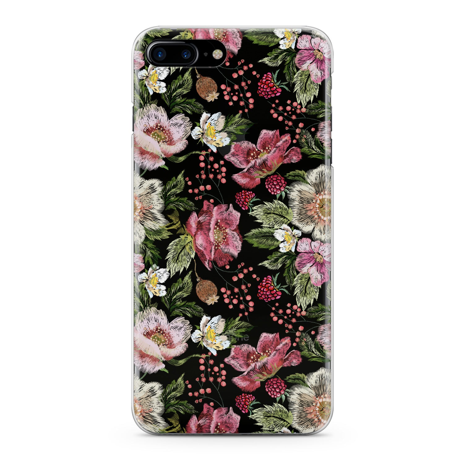 Lex Altern Pink Summer Blossom Phone Case for your iPhone & Android phone.
