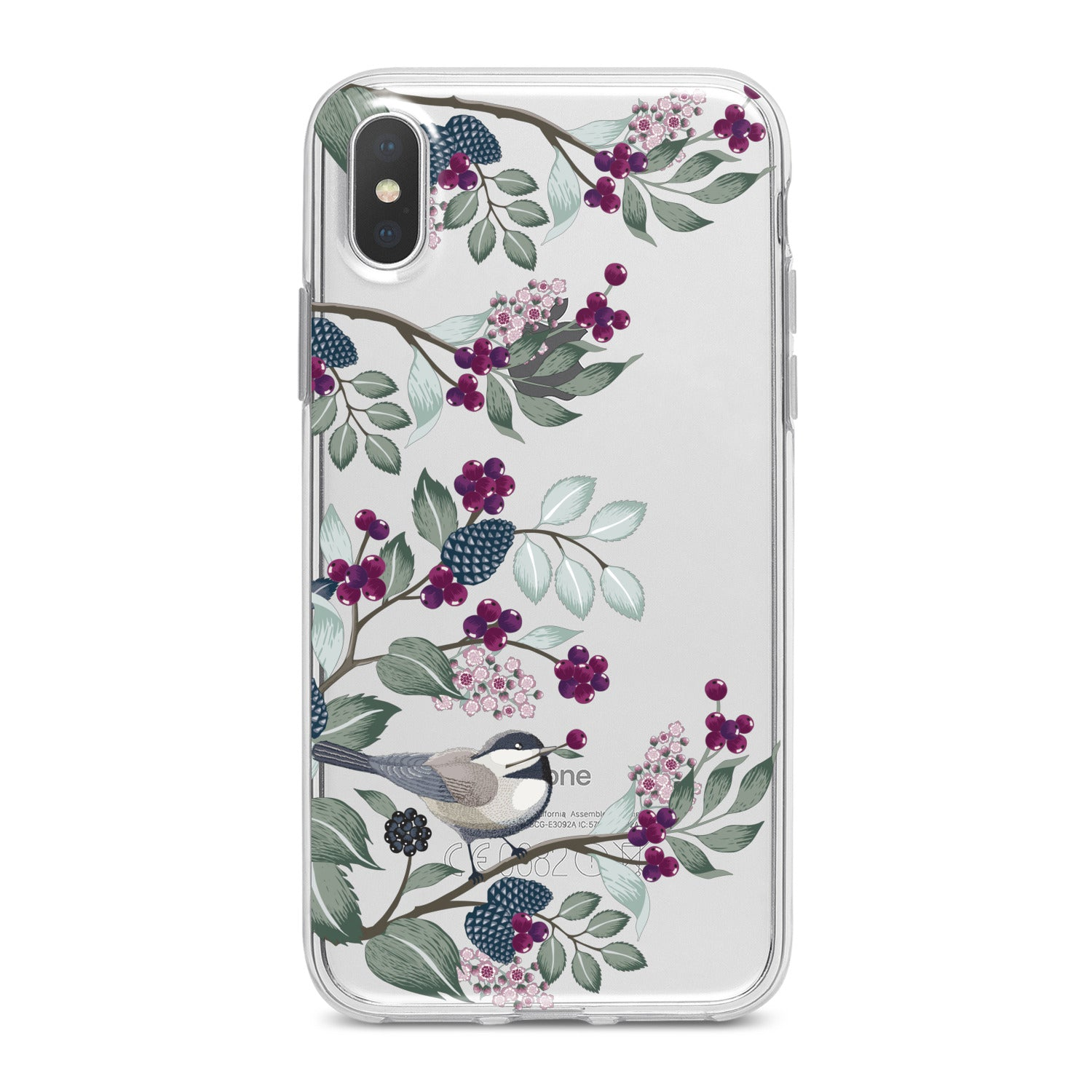 Lex Altern Beautiful Currant Blossom Phone Case for your iPhone & Android phone.