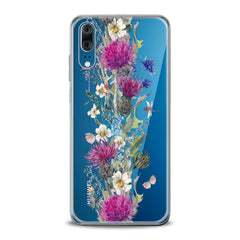 Lex Altern TPU Silicone Huawei Honor Case Wildflowers Bouquet
