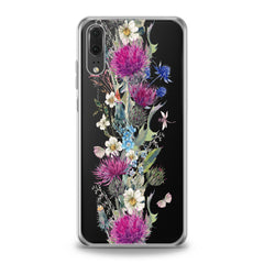 Lex Altern Wildflowers Bouquet Huawei Honor Case