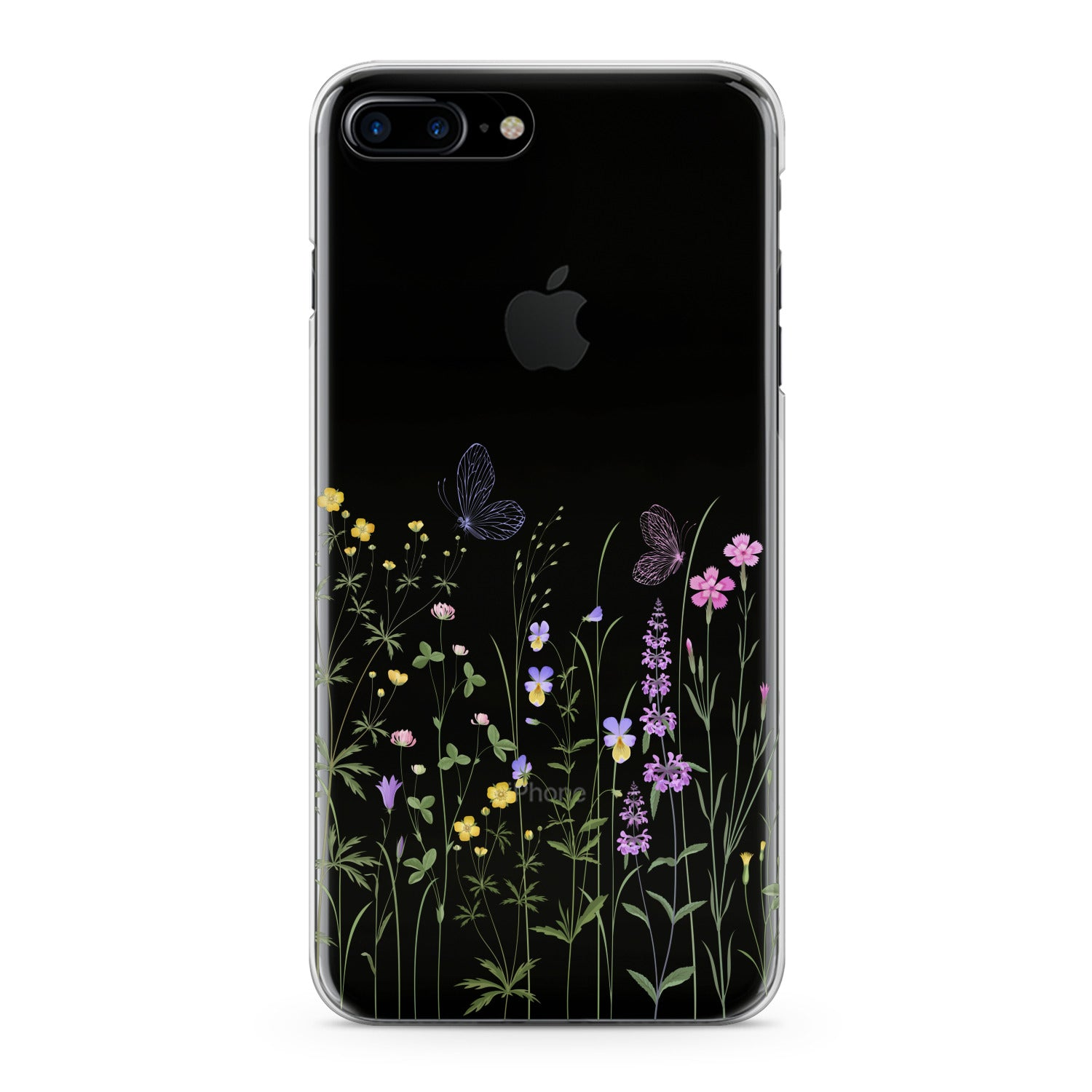 Lex Altern Tender Wildflowers Print Phone Case for your iPhone & Android phone.