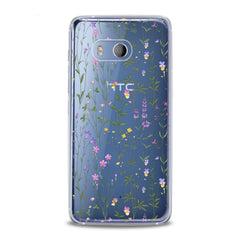 Lex Altern Gentle Wildflowers Artwork HTC Case