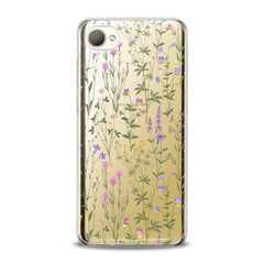 Lex Altern TPU Silicone HTC Case Gentle Wildflowers Artwork