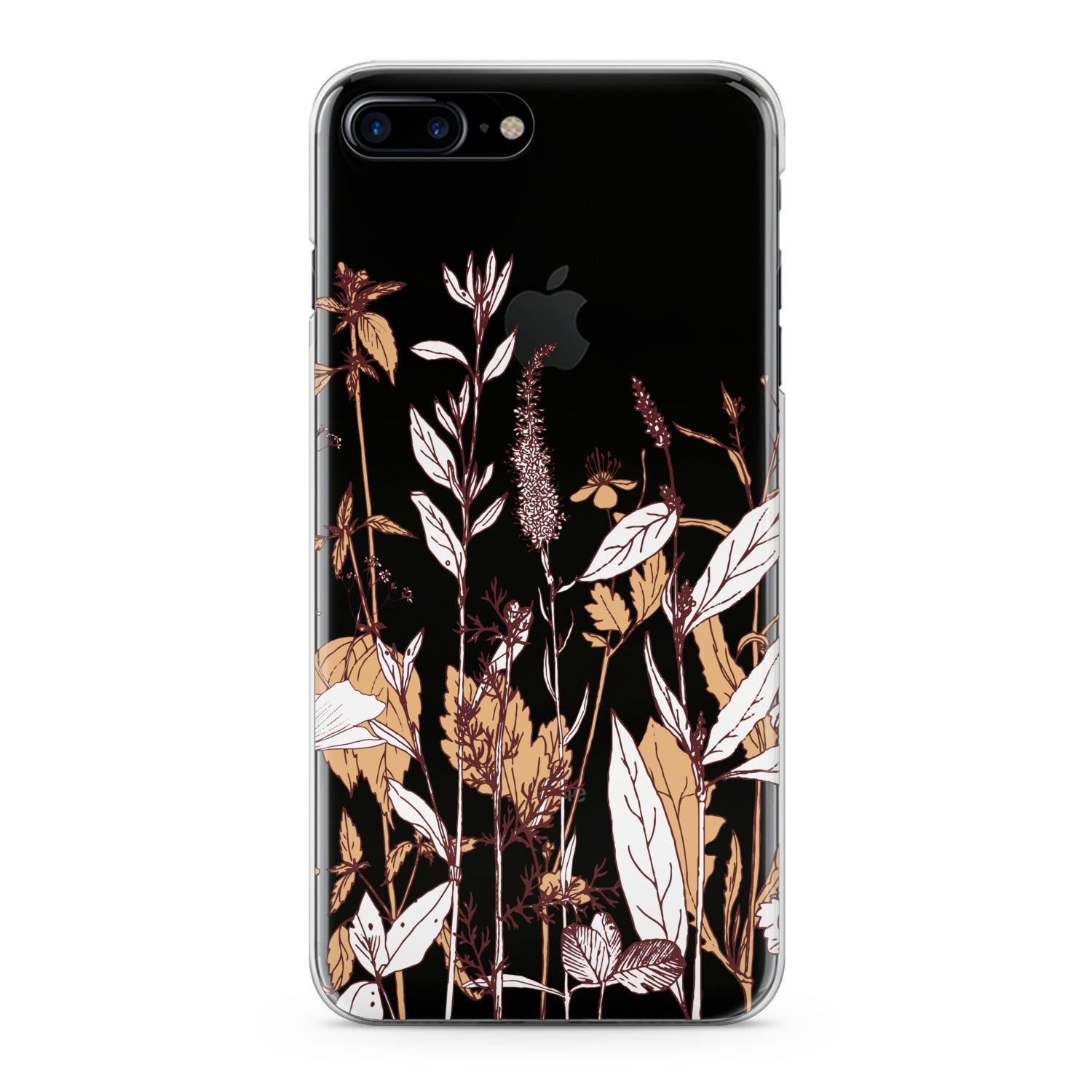 Lex Altern Autumn Wildflowers Phone Case for your iPhone & Android phone.