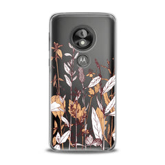 Lex Altern TPU Silicone Phone Case Autumn Wildflowers
