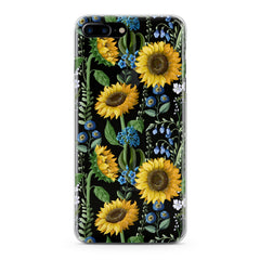 Lex Altern Juicy Sunflower Print Phone Case for your iPhone & Android phone.