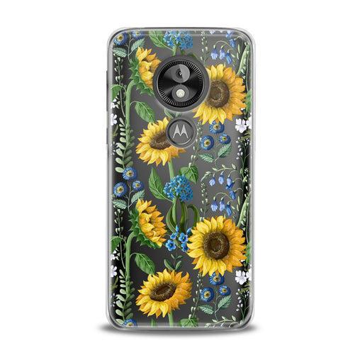Lex Altern Juicy Sunflower Print Motorola Case
