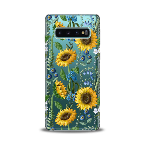 Lex Altern Juicy Sunflower Print Samsung Galaxy Case