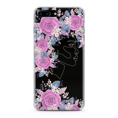 Lex Altern Floral Feminine Portrait Phone Case for your iPhone & Android phone.