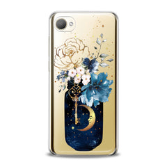 Lex Altern TPU Silicone HTC Case Floral Bottle Art