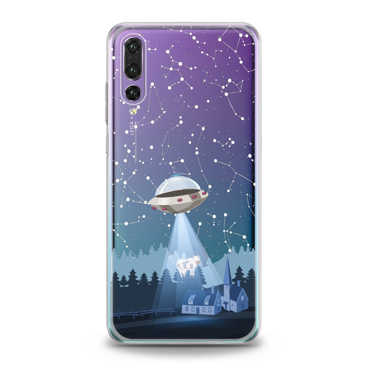 Lex Altern Spaceship Huawei Honor Case