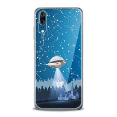 Lex Altern TPU Silicone Huawei Honor Case Spaceship