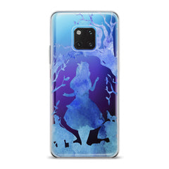 Lex Altern TPU Silicone Huawei Honor Case Watercolor Alice in Wonderland Cartoon