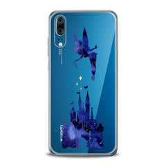 Lex Altern TPU Silicone Huawei Honor Case Castle Tinker Bell Cartoon