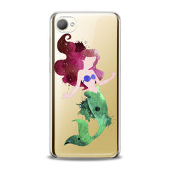 Lex Altern TPU Silicone HTC Case Watercolor Ariel