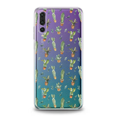 Lex Altern TPU Silicone Huawei Honor Case Cute Green Cactuses Plant