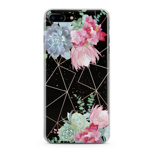 Lex Altern Floral Succulent Phone Case for your iPhone & Android phone.