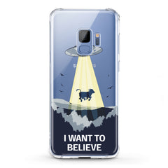 Lex Altern TPU Silicone Phone Case Cow Alien