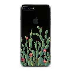 Lex Altern Red Cacti Flowers Phone Case for your iPhone & Android phone.