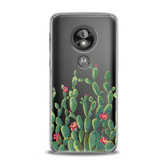 Lex Altern TPU Silicone Phone Case Red Cacti Flowers