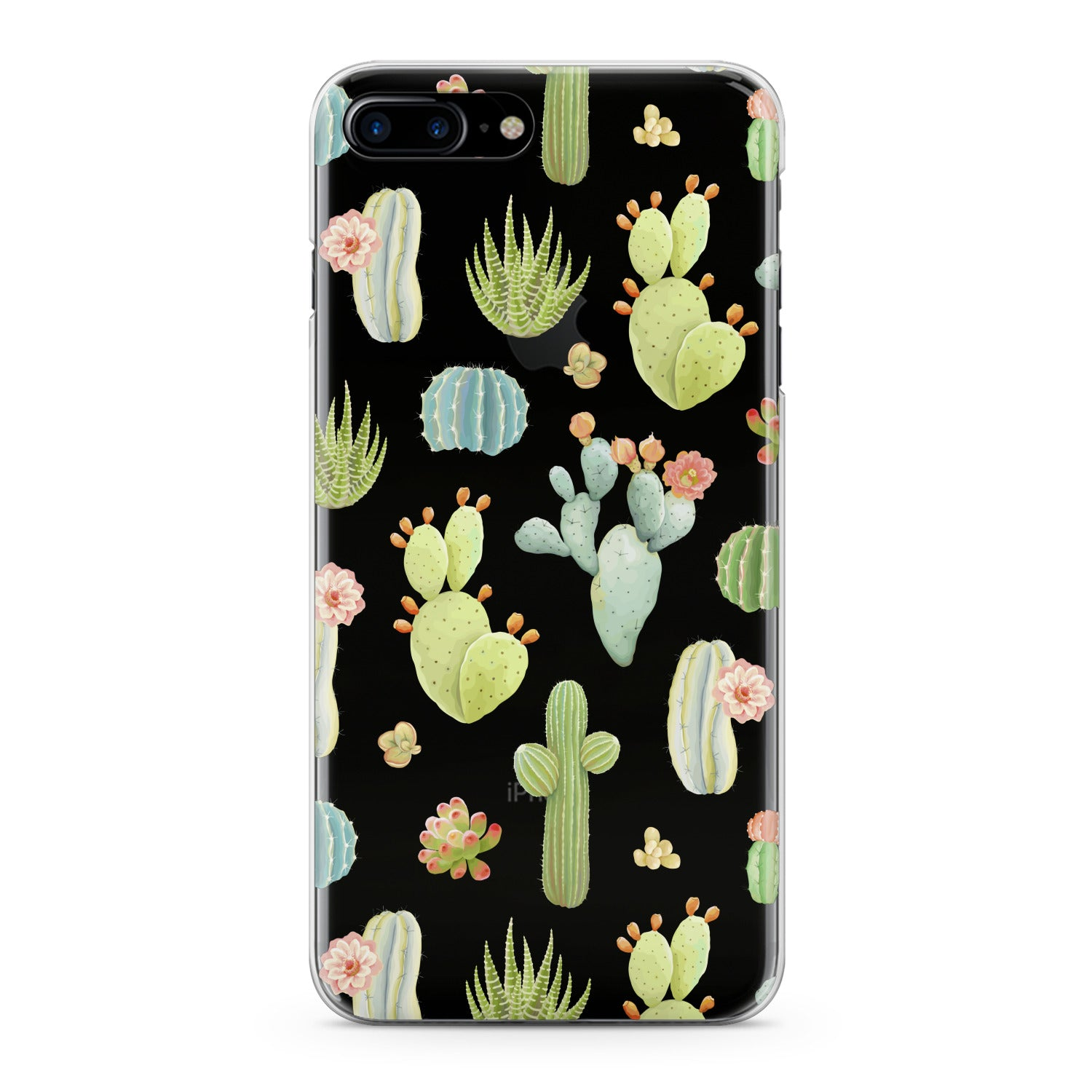 Lex Altern Pastel Cactuses Phone Case for your iPhone & Android phone.