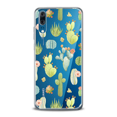 Lex Altern TPU Silicone Huawei Honor Case Pastel Cactuses