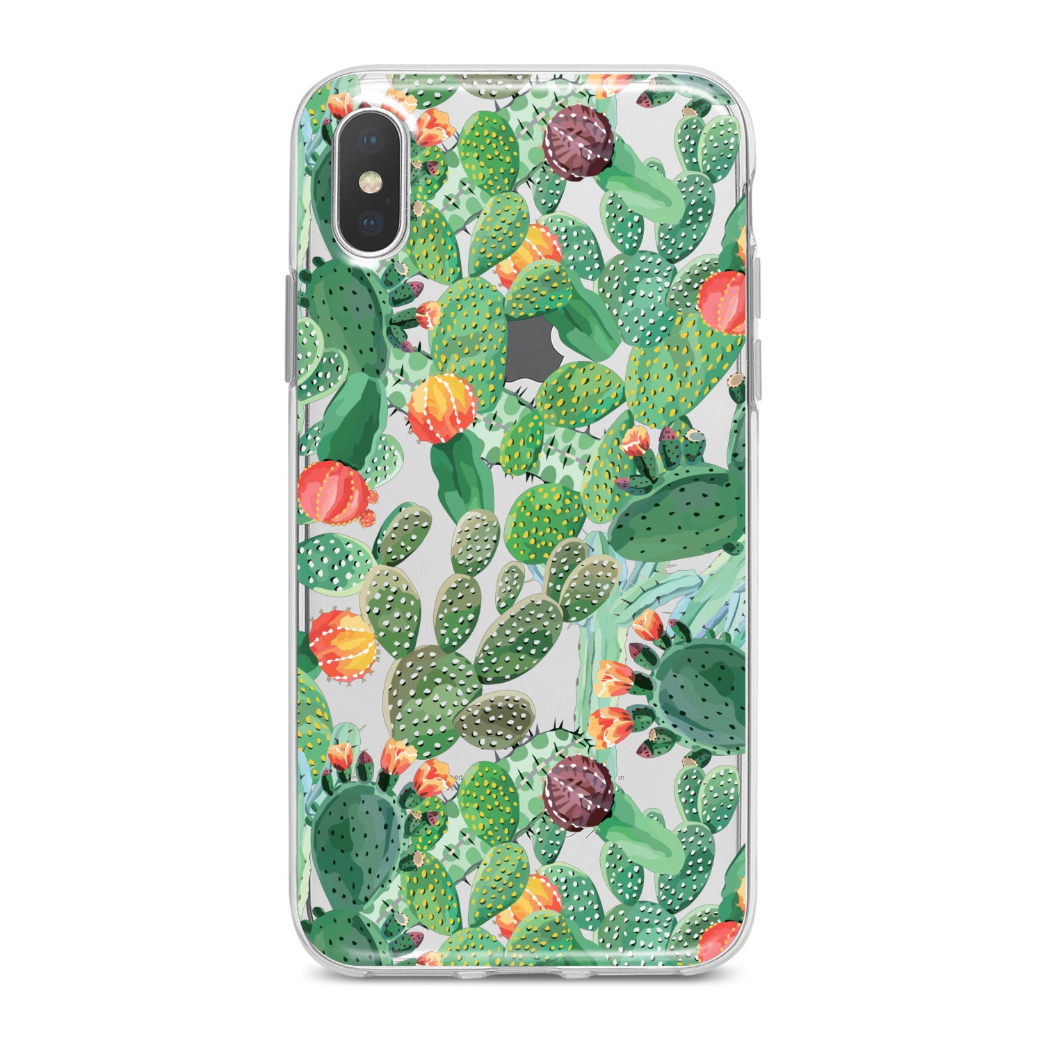 Lex Altern Beautiful Cactuses Print Phone Case for your iPhone & Android phone.