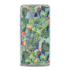 Lex Altern TPU Silicone HTC Case Beautiful Cactuses Print
