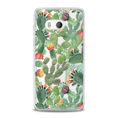 Lex Altern Beautiful Cactuses Print HTC Case