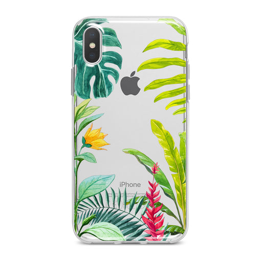 Lex Altern Tropical Flowers Bloom Phone Case for your iPhone & Android phone.
