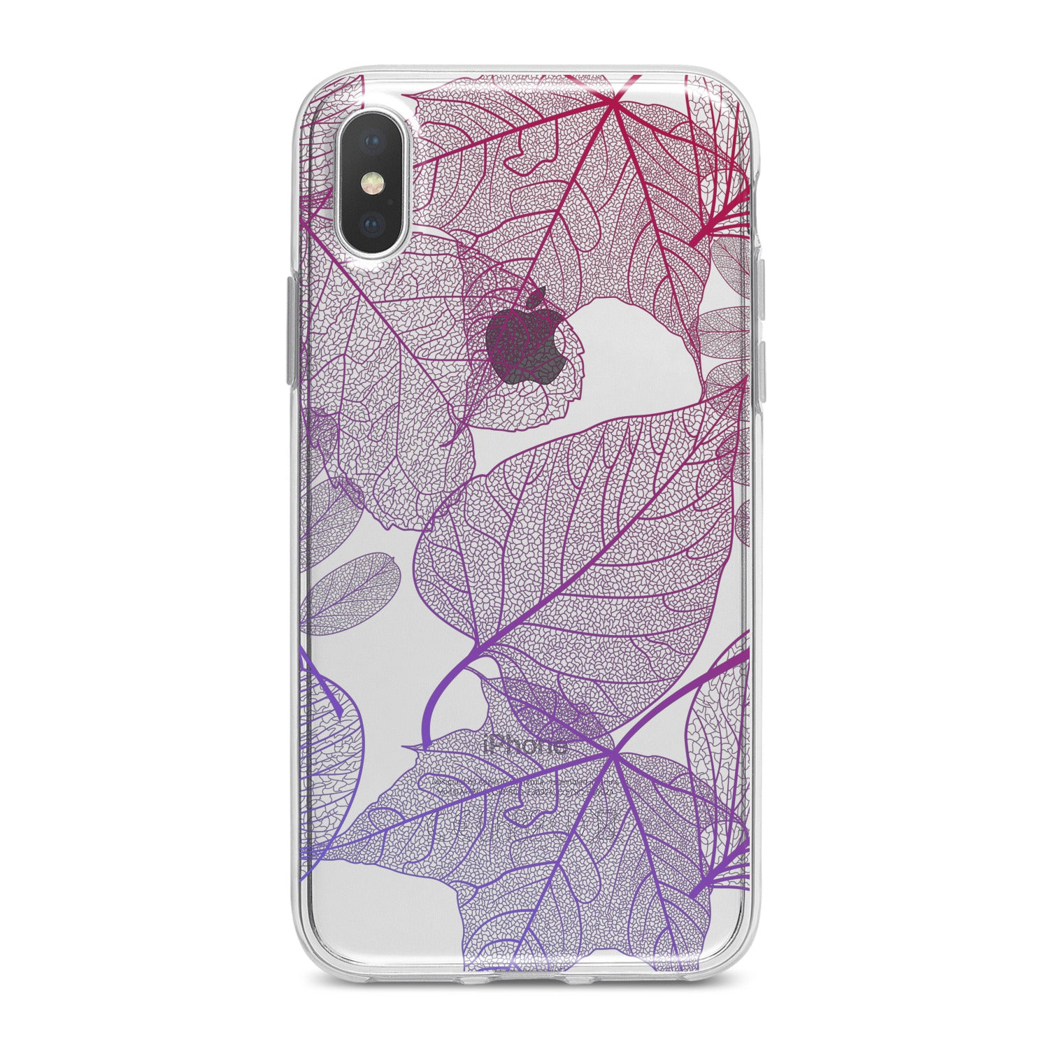 Lex Altern Purple Leaves Phone Case for your iPhone & Android phone.