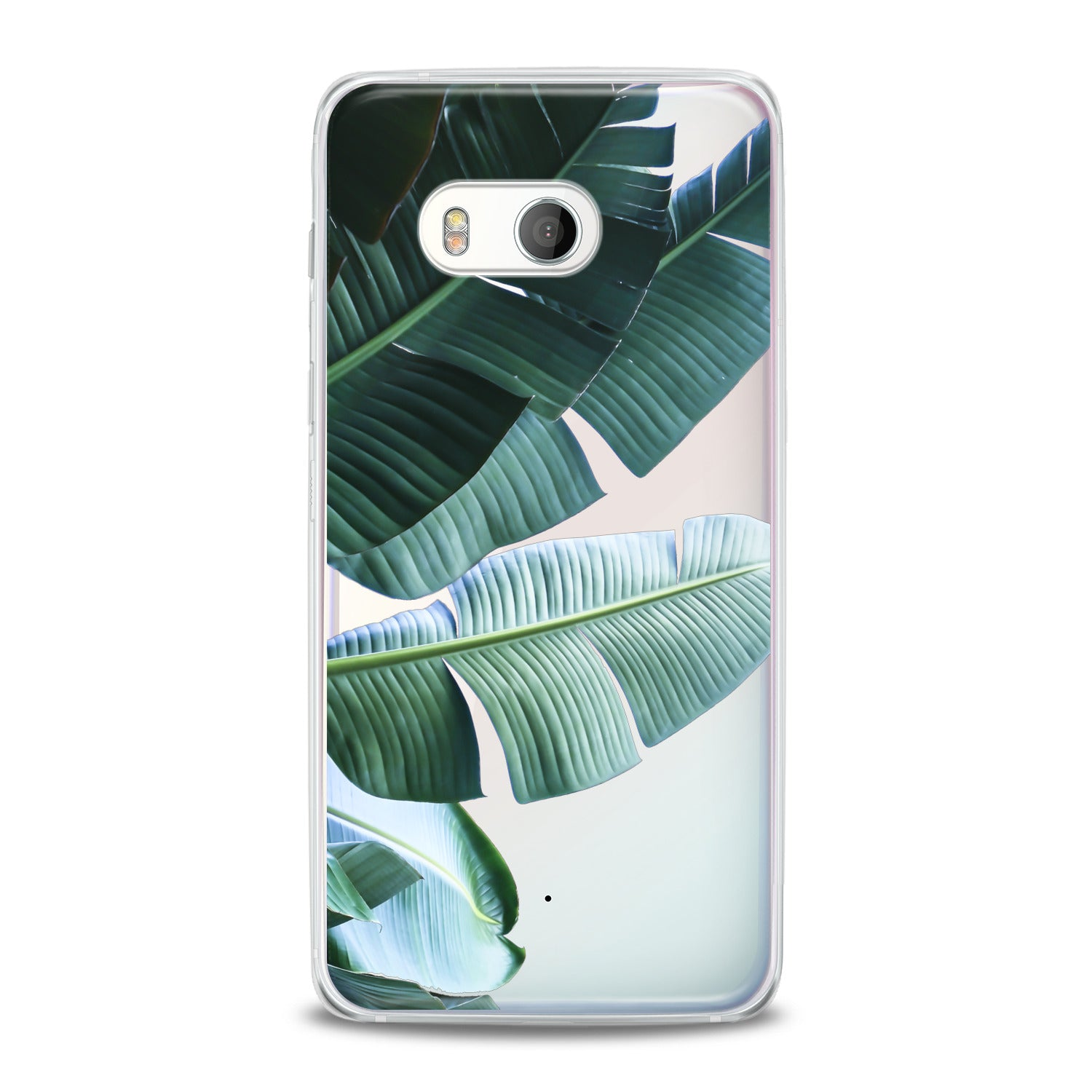 Lex Altern Green Tropical Leaves HTC Case
