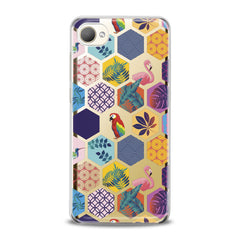 Lex Altern TPU Silicone HTC Case Tropical Birds