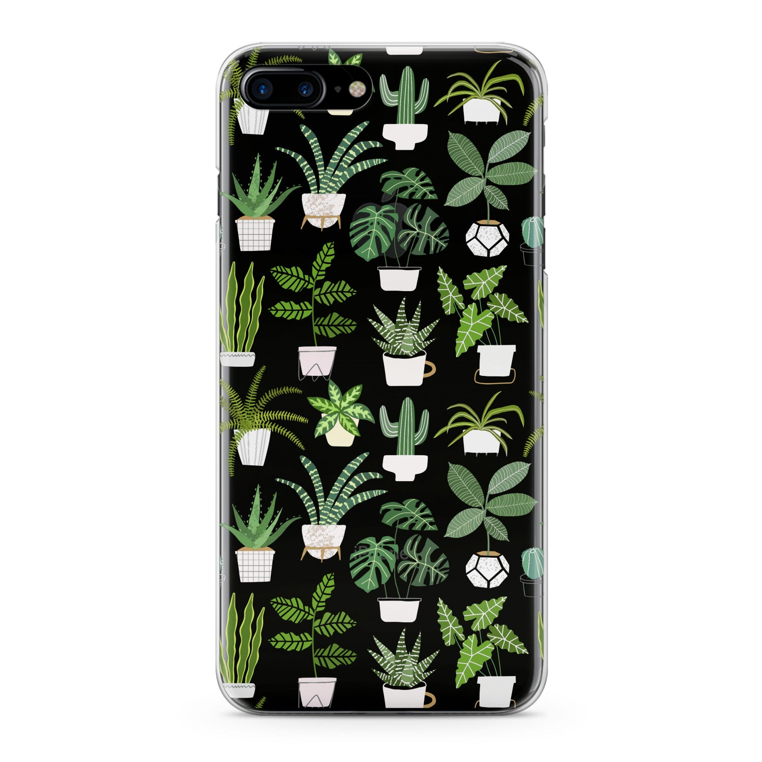 Lex Altern Tropical Potted Plants Phone Case for your iPhone & Android phone.