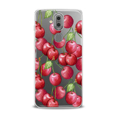 Lex Altern TPU Silicone Phone Case Watercolor Cherries