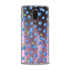 Lex Altern TPU Silicone Phone Case Watercolor Blueberries