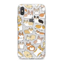 Lex Altern Corgi Puppies Phone Case for your iPhone & Android phone.