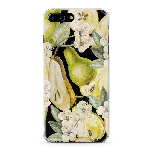 Lex Altern Juicy Floral Pear Phone Case for your iPhone & Android phone.