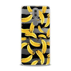 Lex Altern TPU Silicone Phone Case Painted Yellow Banana