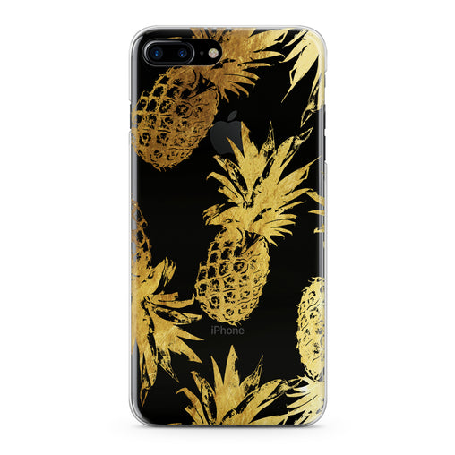 Lex Altern Golden Pineapple Design Phone Case for your iPhone & Android phone.