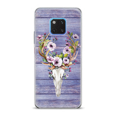 Lex Altern TPU Silicone Huawei Honor Case Floral Animal Skull